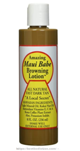 Maui Babe Browning Lotion Simply Sun Safe